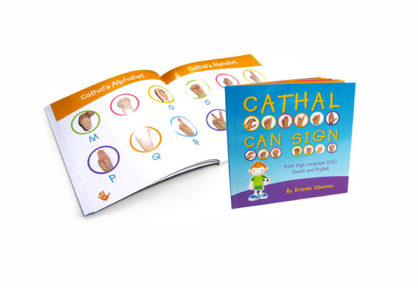 Cathal Can Sign, Book & Birthday Card Design, Co. Mayo, Ireland.