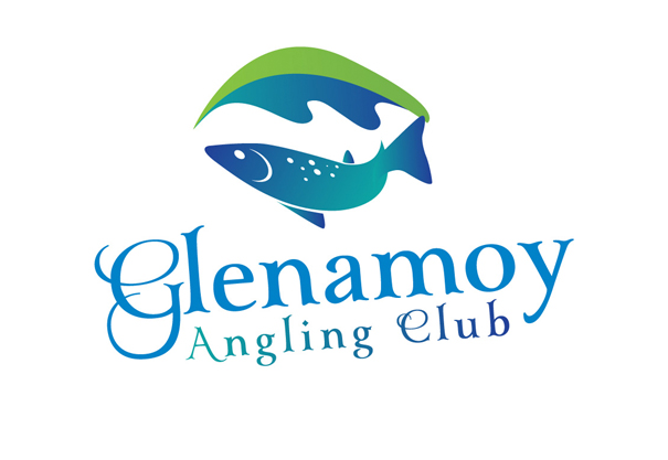 Glenamoy Angling Club, Logo Design and Branding Concept Design, Bangor-Erris, Belmullet, Co. Mayo, Ireland.